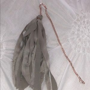 Jewelry - Women's tassel necklace